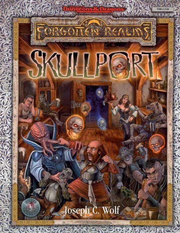 Skullport 2e Forgotten Realms Book Cover And Interior Art
