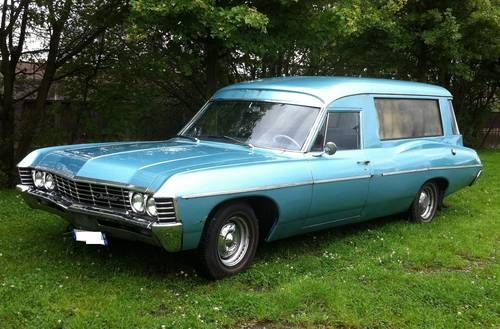1967 Chevrolet Bel Air Estate Wagon Hearse Hearse Ambulance