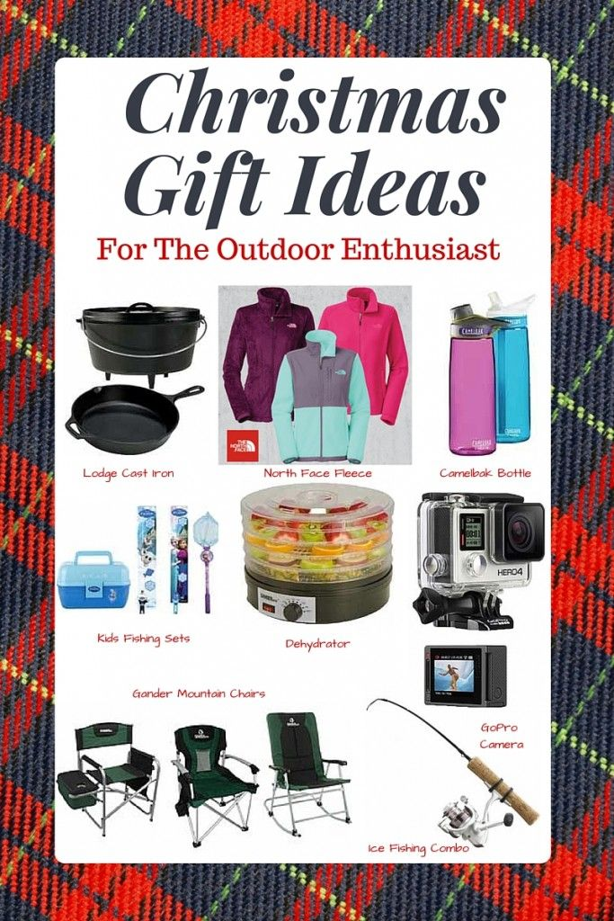 Christmas Gift Ideas For the Outdoor Enthusiast! Great gift ideas for  active people who like to hunt, fish, camp or be outside! Plus where to  find the best ... - Gift Ideas For The Outdoor Enthusiast! Plus Where To Find The Best
