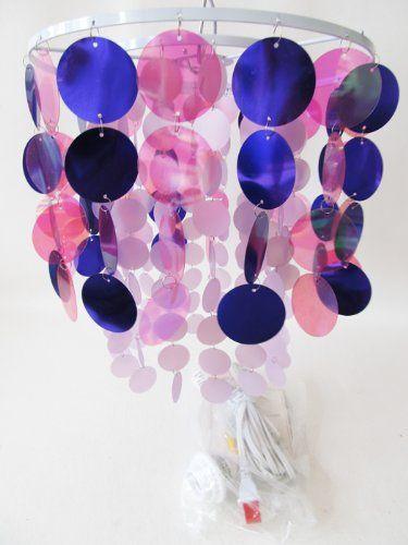 Modern Pink & Purple Chandelier Hanging Light Room Stuff http://www.amazon.com/dp/B005CIF1AY/ref=cm_sw_r_pi_dp_7AoMtb0WAWKN2EYB
