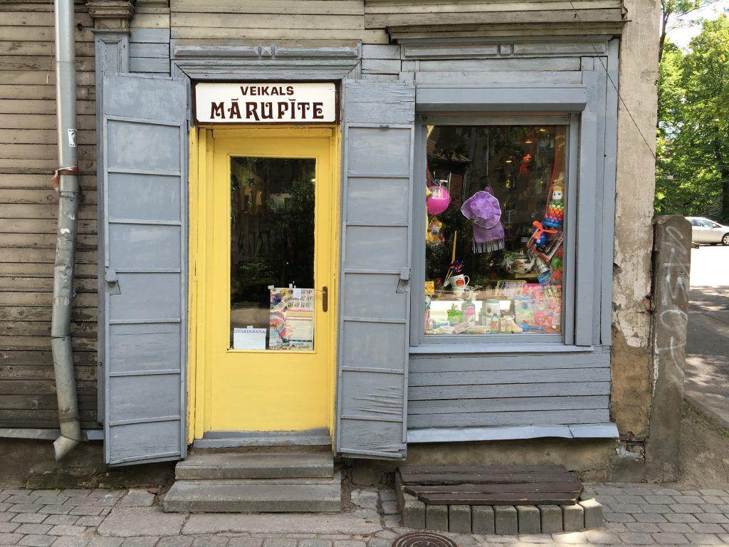 Reisetipps Riga: Laden in Ägenskains