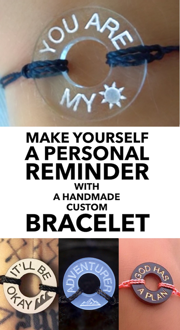 9a35944e9 Make a bracelet with the words & symbols that matter to you, in any  language.