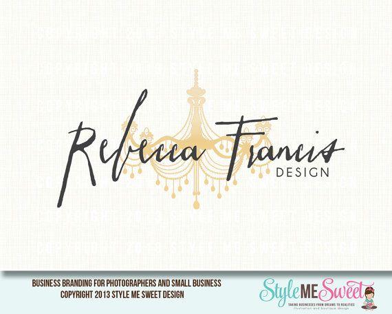 Rebecca Francis Premade Logo Design