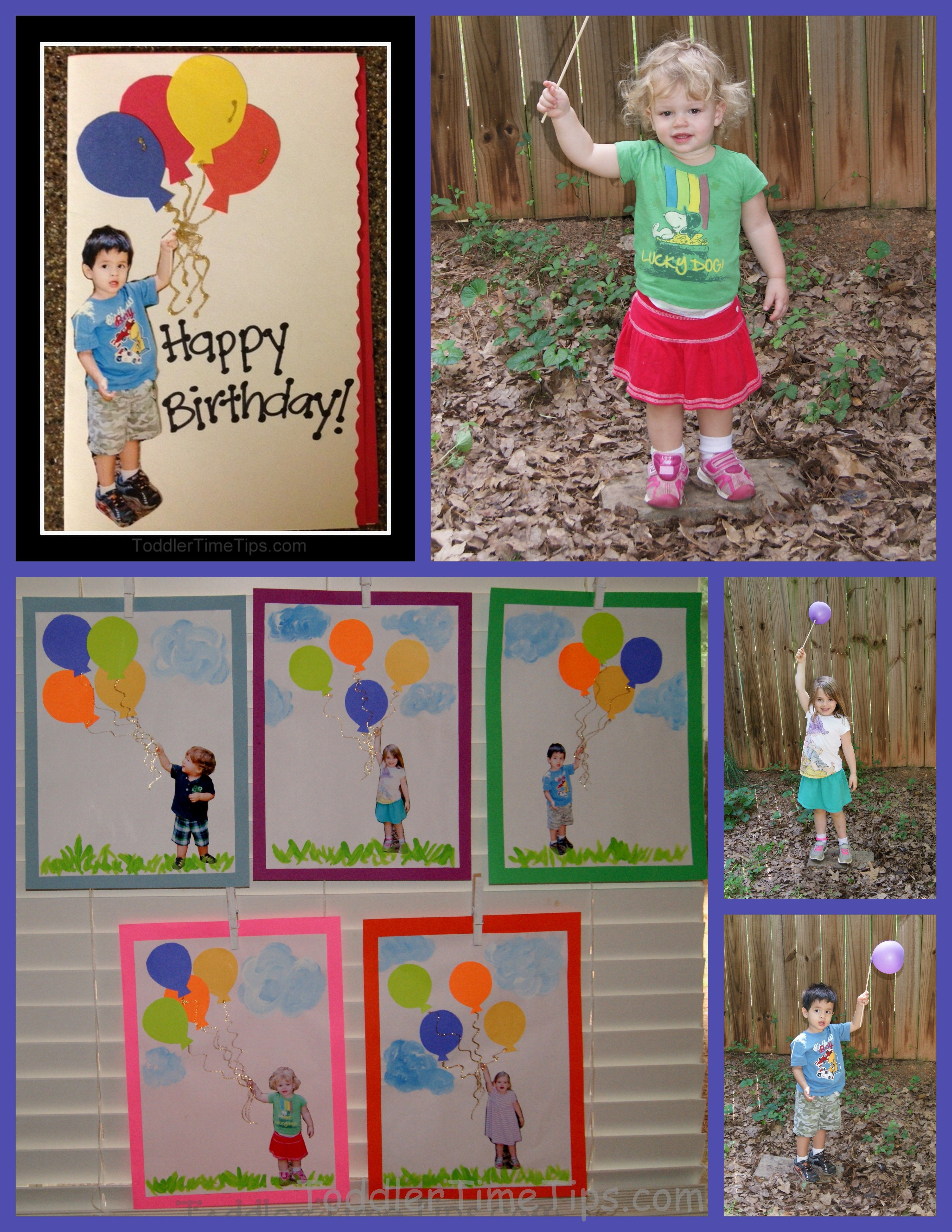 What a perfect personalized birthday card from kids – Personalized Kids Birthday Cards