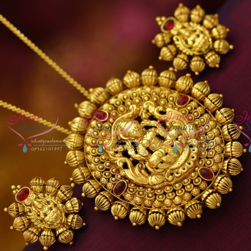 South indian pendants google search gold necklace pinterest south indian pendants google search mozeypictures Choice Image
