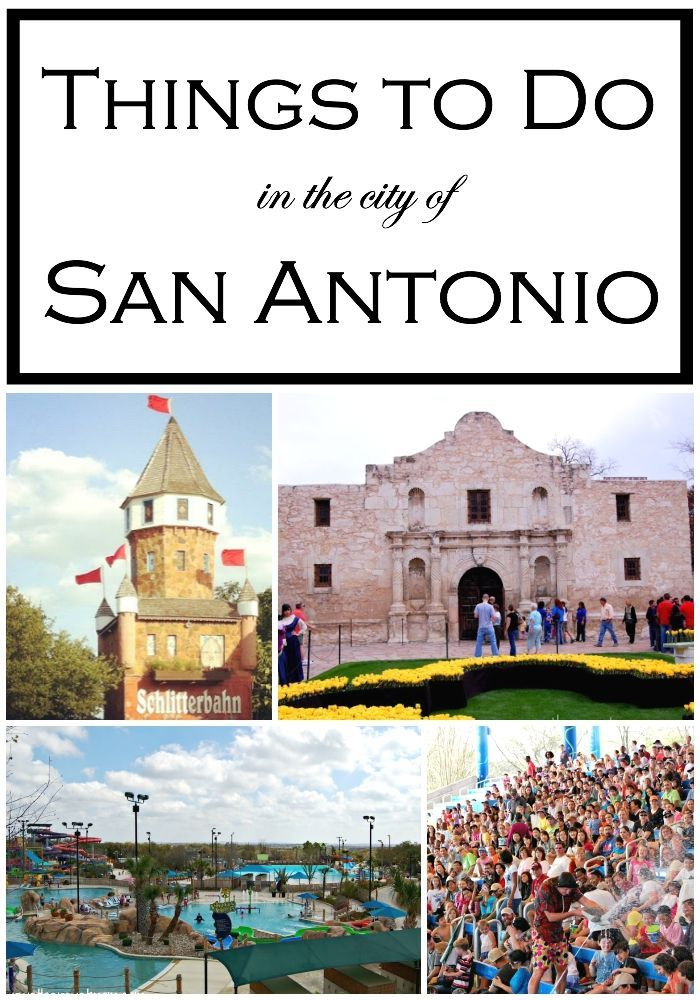 Things to Do in San Antonio, Texas There are lots of Things to Do in San Antonio, Texas for the entire family. Take a look at our big list of fun - outdoor, history, food, culture & moreThere are lots of Things to Do in San Antonio, Texas for the entire family. Take a look at our big list of fun - outdoor, history, food, culture & more