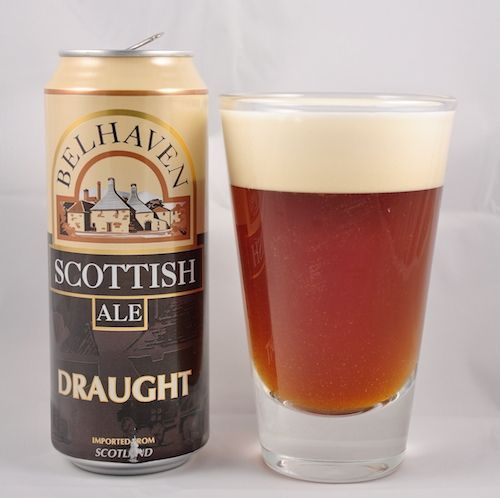Belhaven Scottish Ale Draught (Nitro Version) Malty and hoppy, we at Belhaven love the classic Scottish Ale and we've been brewing it longer than any of the other beers we produce. Delivering a sweet, smooth and creamy finish, Scottish Ale has a stunning ruby colour in the glass. #craftbeer #beer