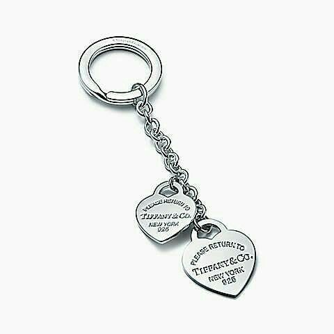 0333c8450 Two Hearts, Tiffany And Co, Gift List, Key Rings, Women's Accessories,