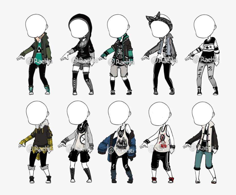 outfit to adopt closed boy oc outfit ideas cliparts in