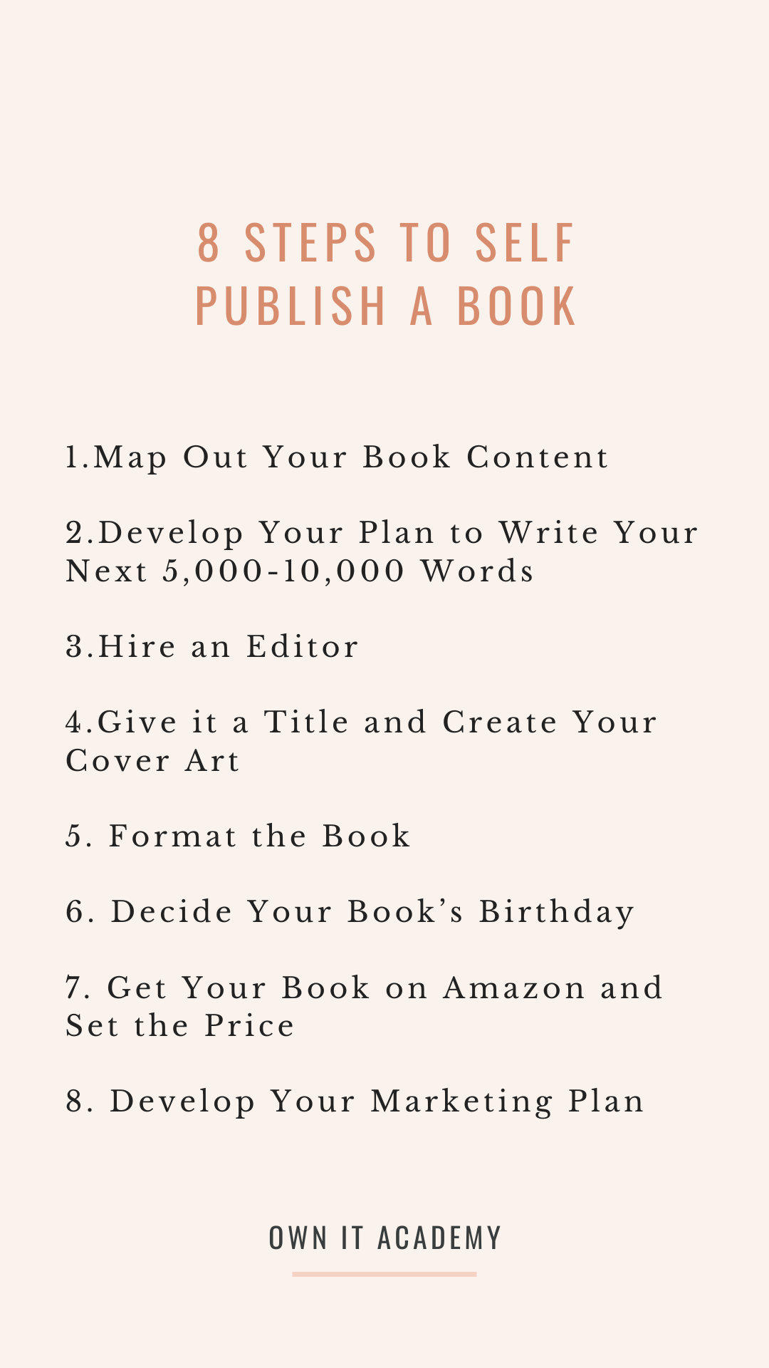 Ready To Get Your Book Published Self Publishing Writing A Book Self