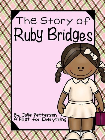 Ruby Bridges Reading passages, Character trait and Picture cards - copy free coloring pages for ruby bridges