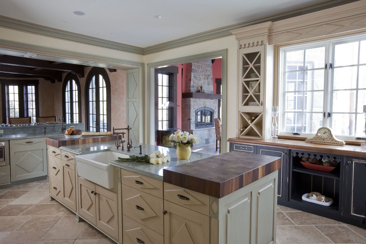 Kitchen Designsken Kelly Created This French Country Kitchen Amusing Kitchen Design By Ken Kelly Inspiration