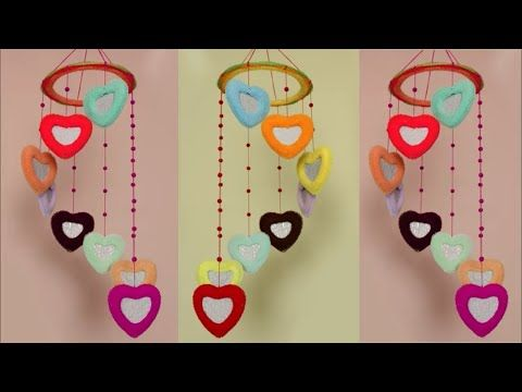 Beautiful Wall Hanging Idea at Home || Wall Hanging Craft Idea using ...