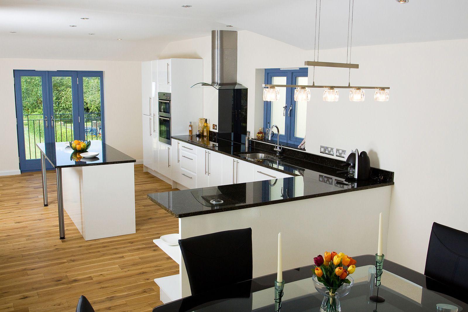Bestkitchendecorationinwhiteandblack See More  Httpwww Adorable Interior Design Kitchens 2014 Design Decoration