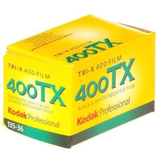 NEW Kodak Tri-X 400TX Professional ISO 400 36mm Black and White Film - FREE SHIP