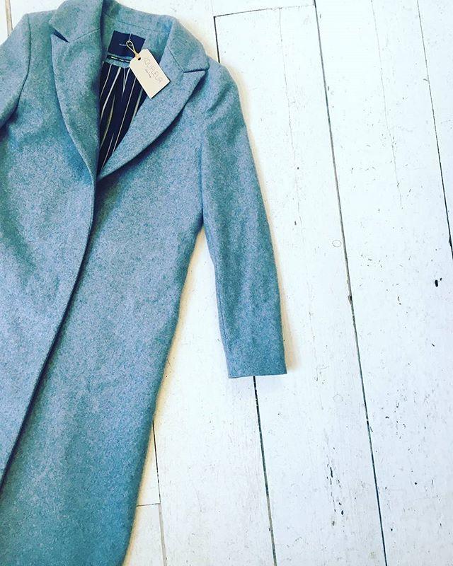 Maison Scotch long wool coat [size 36] #kolifleur #autumn #cozydays  by @ninabrigitte
