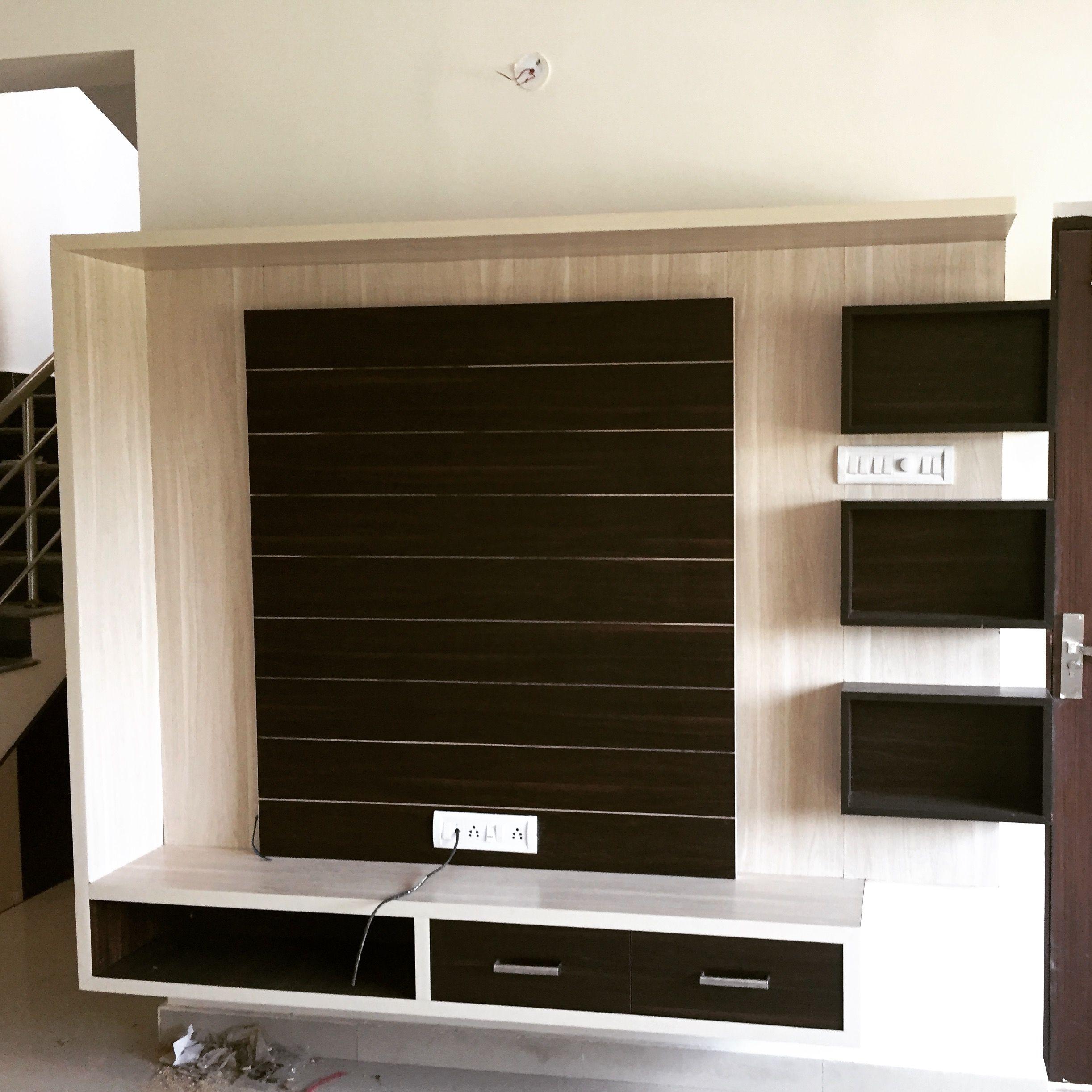 Pin By Sudha Rani On Door Handles Tv Unit Design Wall Tv Unit