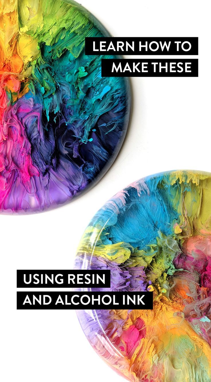 Brittany Kostenloses Kunst-eBook    - Diy resin crafts #alcoholinkcrafts