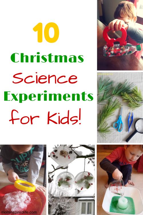 Preschool & Kindergarten Christmas Learning Activities and Mom's ...