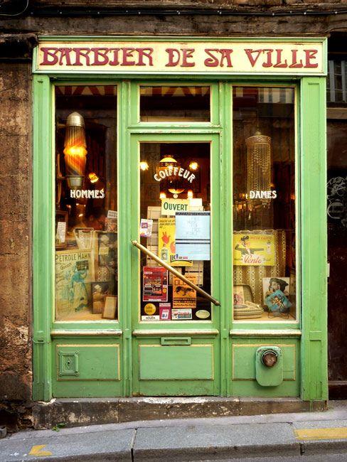 Barbier Shop Fronts Shop Facade Store Fronts