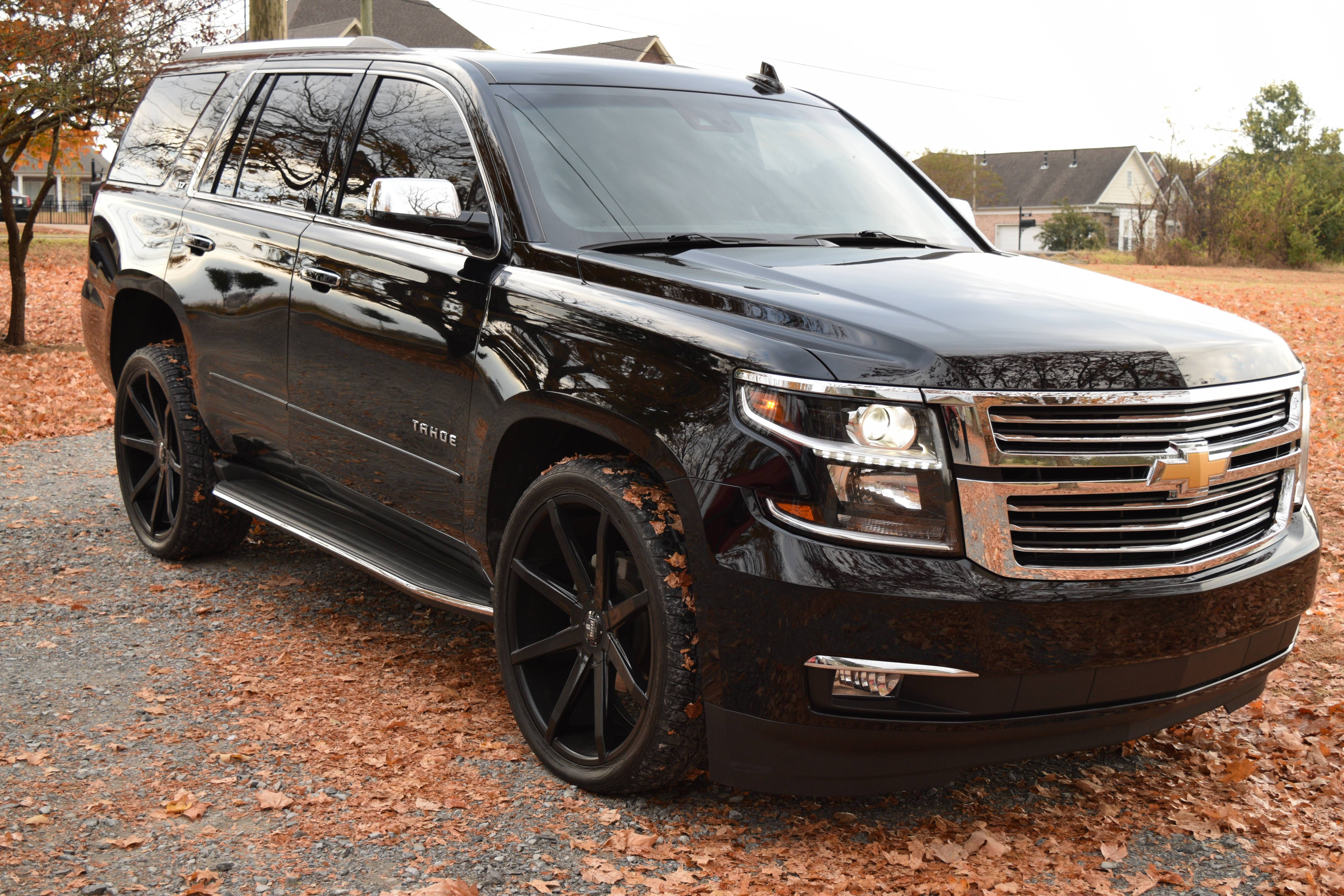 black-chevy-tahoe-pictures