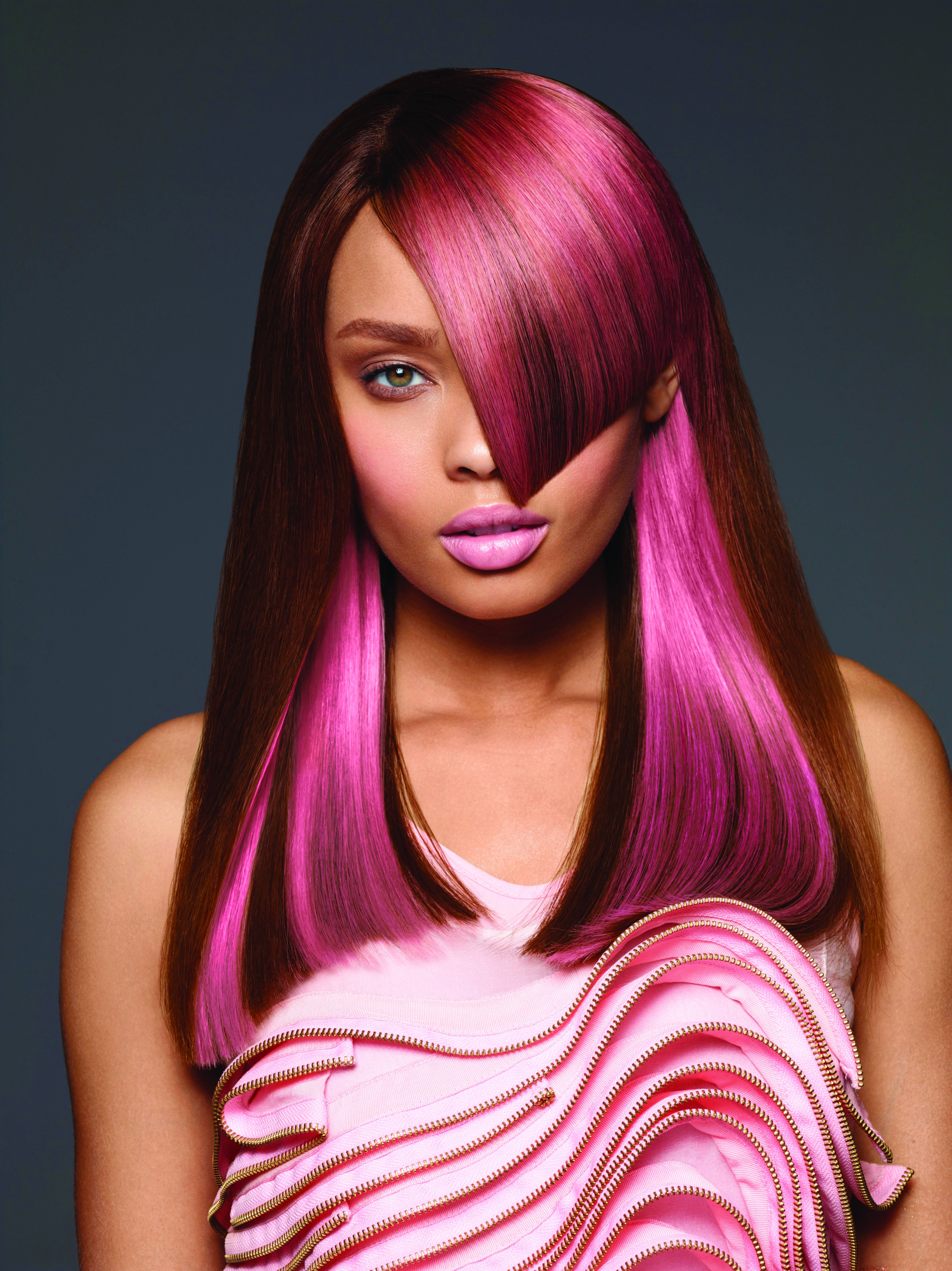 Strawberry Shine Pink Color Formula from Paul Mitchell in