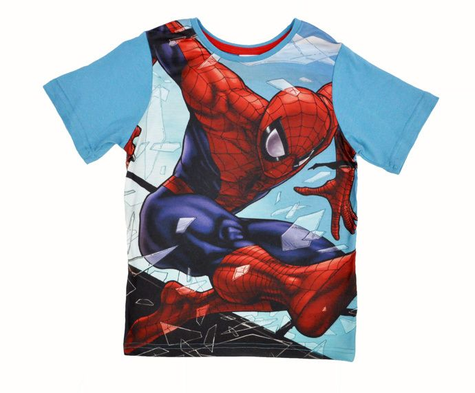 b4435866d4206 Kids clothes Cartoon cotton T-shirt Spiderman hulk captain america iron man  Cute Boy T-shirt vetement enfants boy garcon meninos