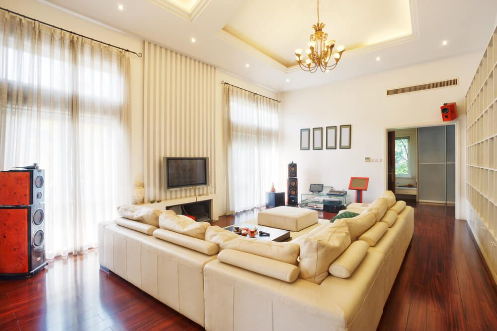 45 Contemporary Living Rooms with Sectional Sofas (Pictures) : gold sectional sofa - Sectionals, Sofas & Couches
