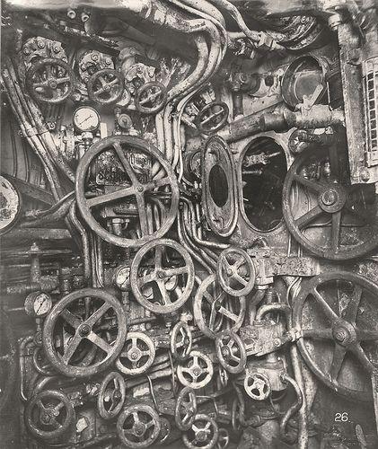 Control Room Nuclear Submarine Inside