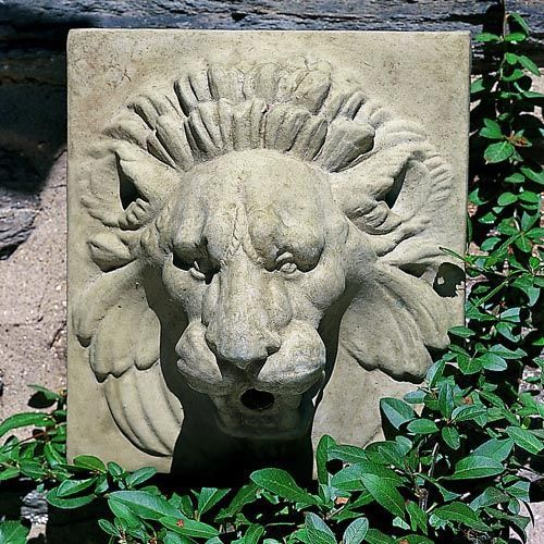 Outdoor Wall Plaques Awesome Campania International Small Morris Lion Outdoor Wall Art Plaque Inspiration Design