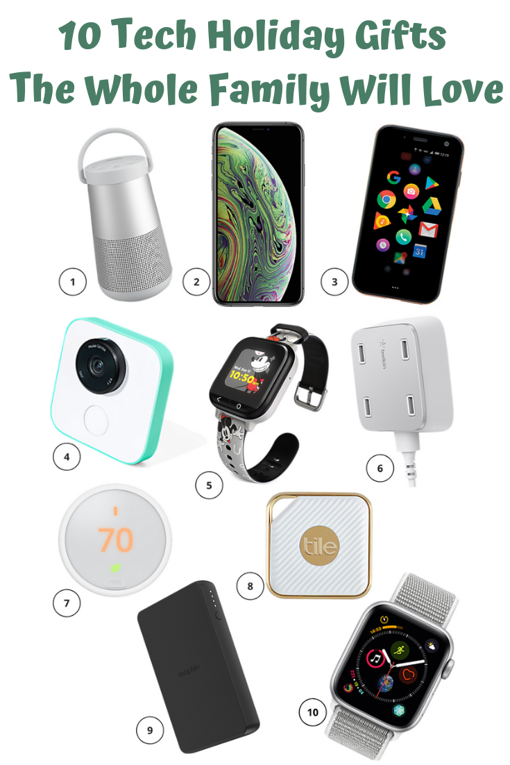 10 Tech Holiday Gifts The Whole Family Will Love Cool Tech Gifts Tech Gifts For Men Holiday Tech Gifts