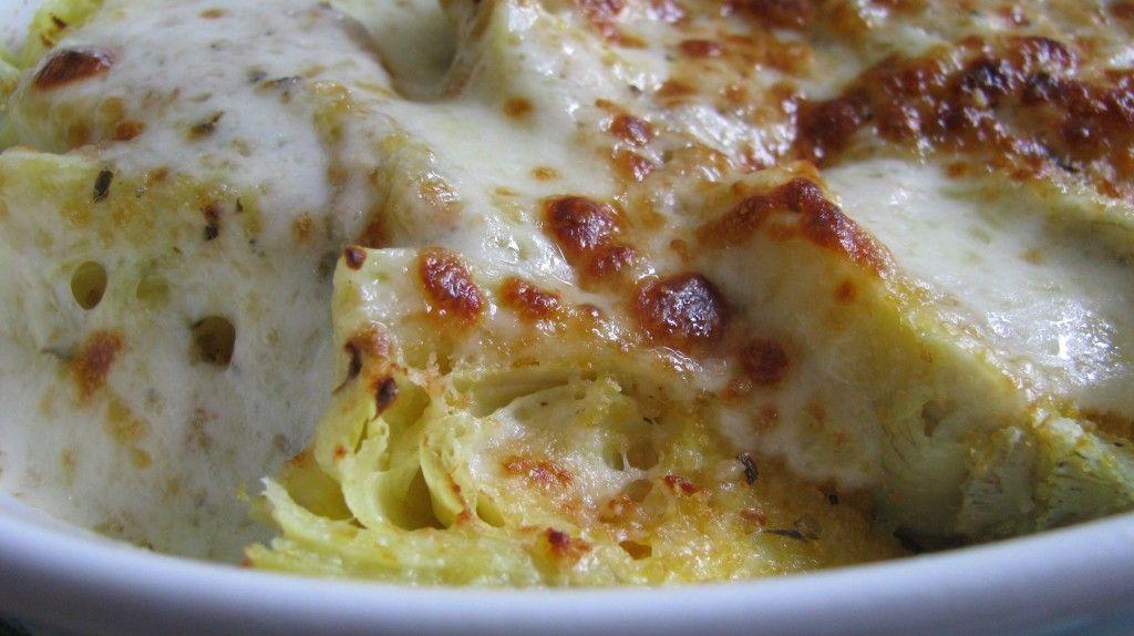 mmmm // Parmesan Baked Artichokes.