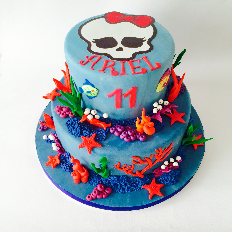 Torta Monster High Monster High Cake Cakes Birthday Ideas