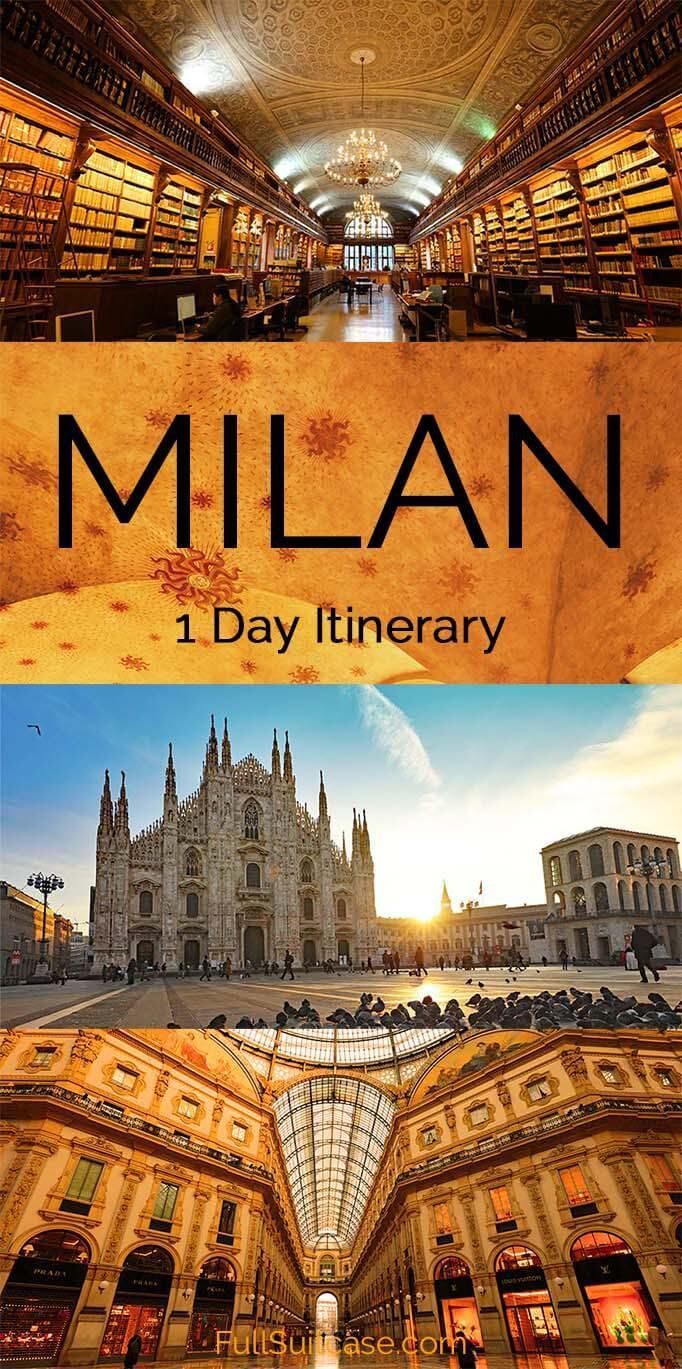 See The Best of Milan in One Day (Most Complete Itinerary)