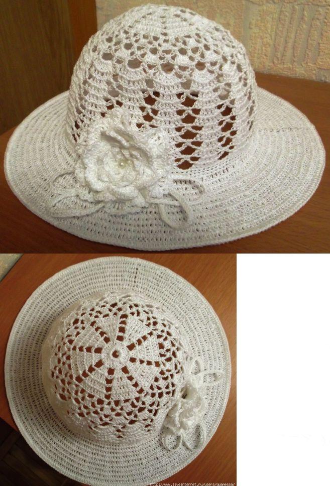 Pin de ВАЛЕНТИНА en шляпки | Pinterest | Gorros, Sombreros de ...