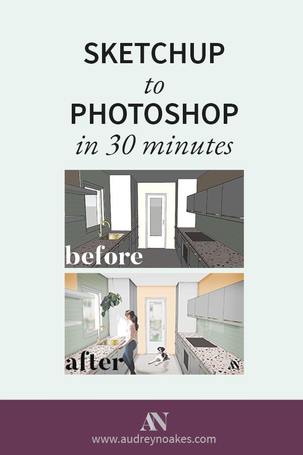 Photoshop tips for interior designers how to transform and render  sketchup visual with in minutes or less also best images rh pinterest