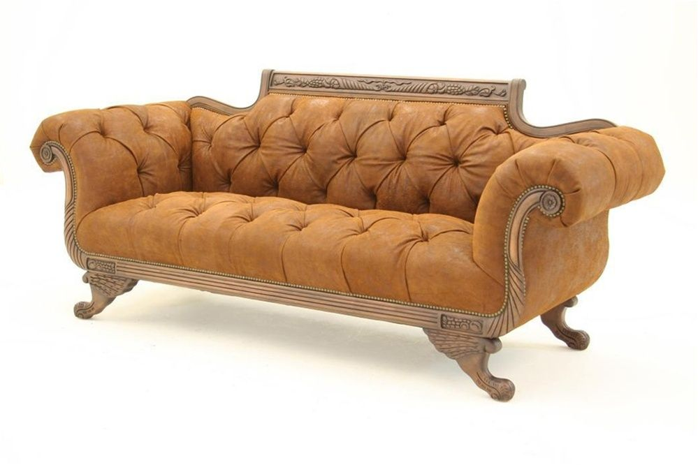 duncan phyfe sofa tufted high quality leather tufted and sanded rh pinterest com