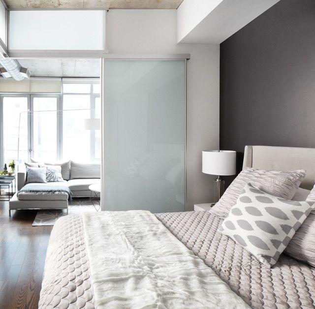 Schiebet ren glas f hrung schlafzimmer trennwand hausbau - Trennwand glas wohnzimmer ...