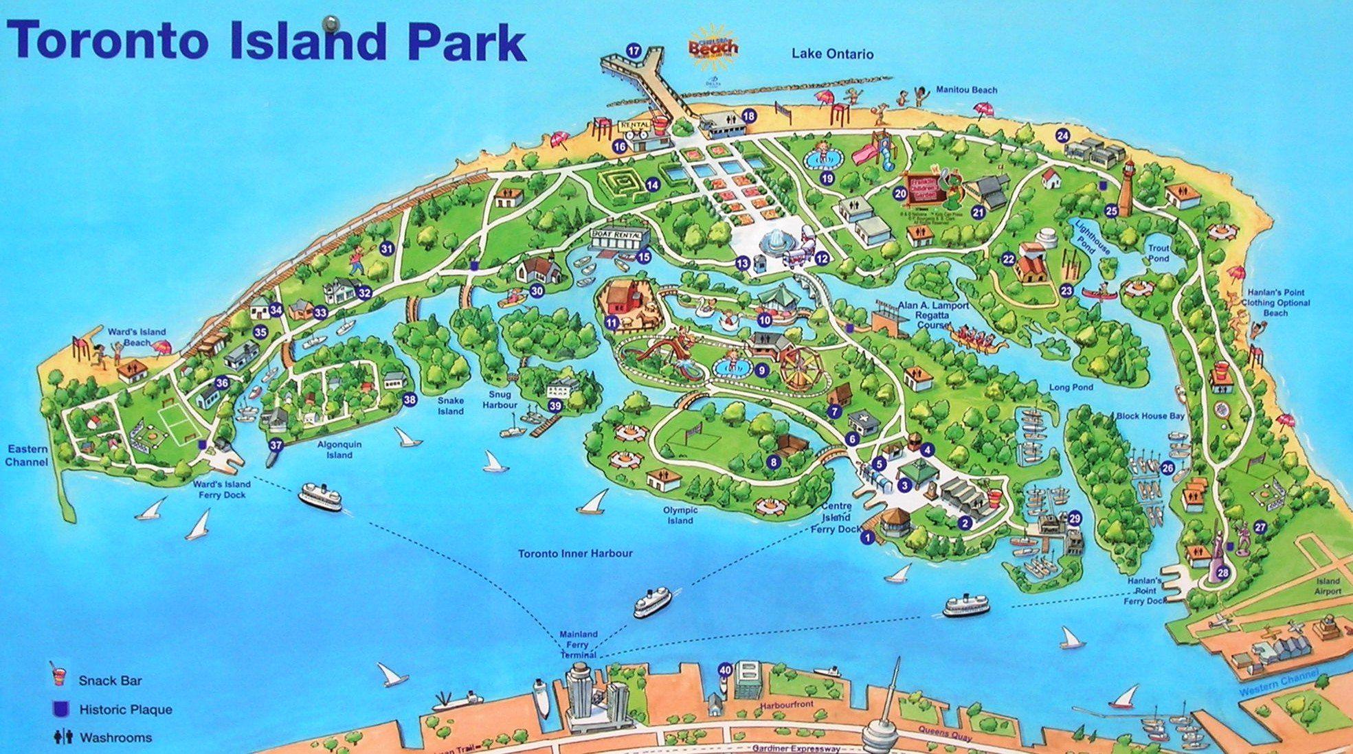 Toronto Island Park Prices