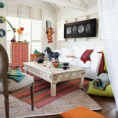 orientalische wohnideen-verschönern sie ihr wohnzimmer mit, Wohnzimmer