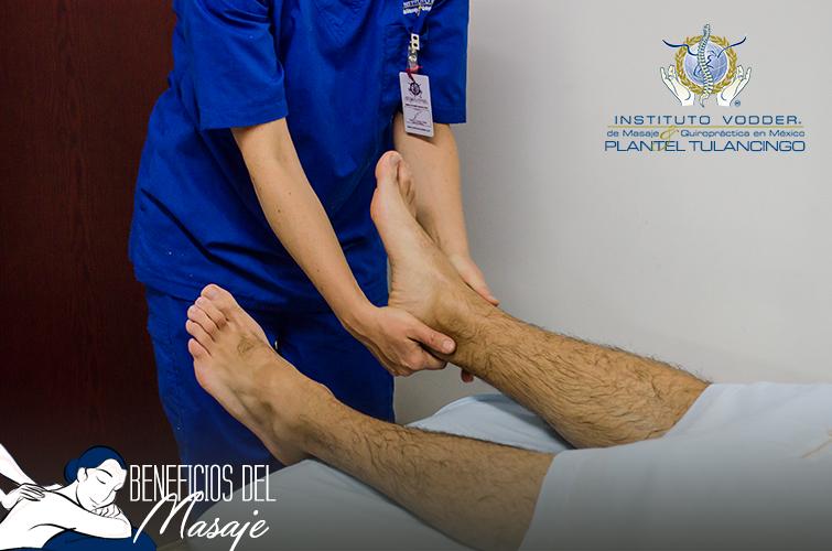 Los pies tienen puntos sensoriales que cuando se masajean proporcionan alivio a dolores y molestias del organismo.