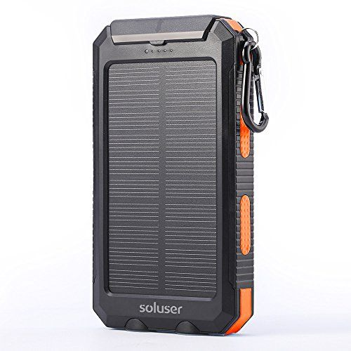 The Portable Solar Phone Charger Is Perfect For The Outdoors And Provides Charging Services Wherever You Go Solar Charger Solar Panel Charger Solar Power Bank