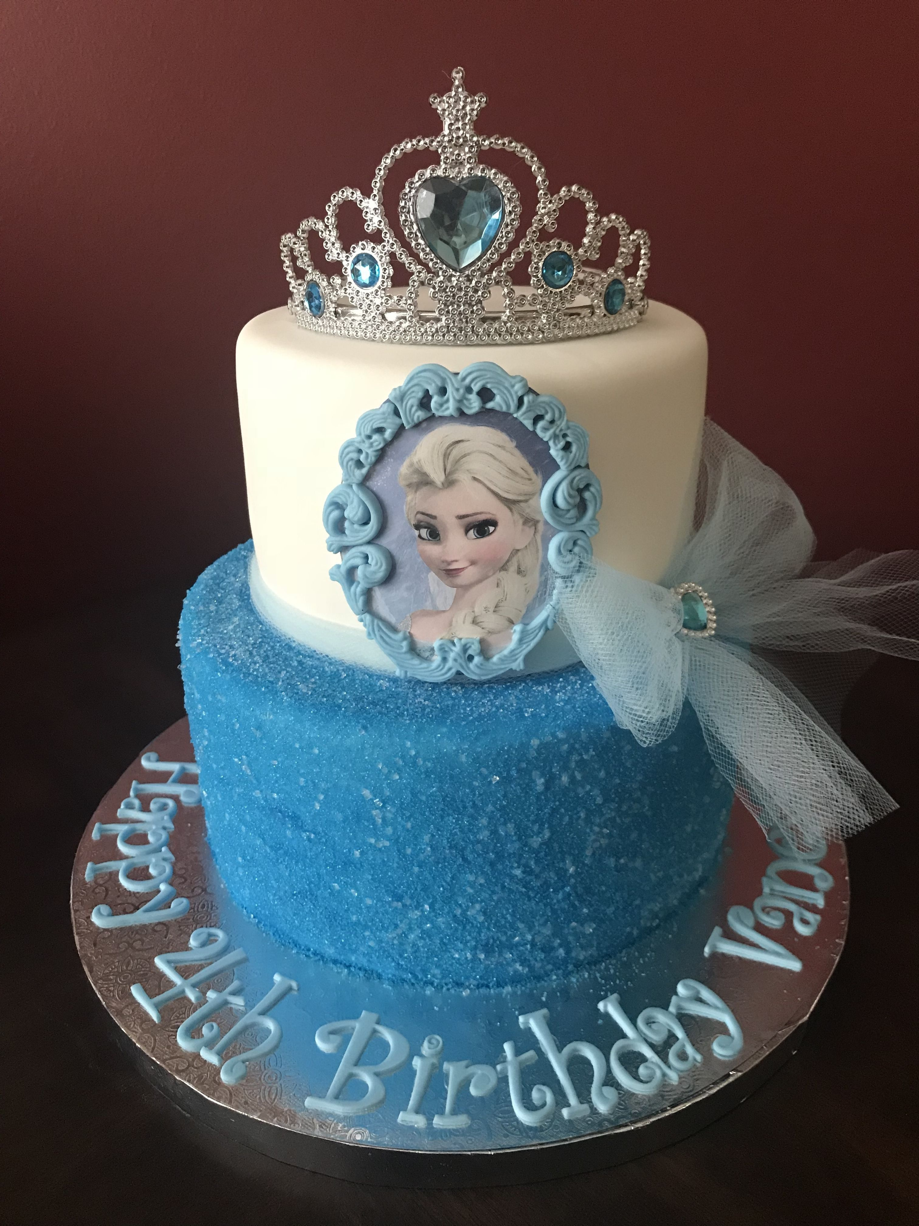 32 Elegant Image Of Frozen Birthday Cake Ideas Princess