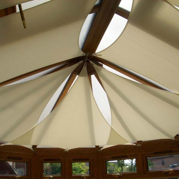 Unique Sunroom Ceiling Shades