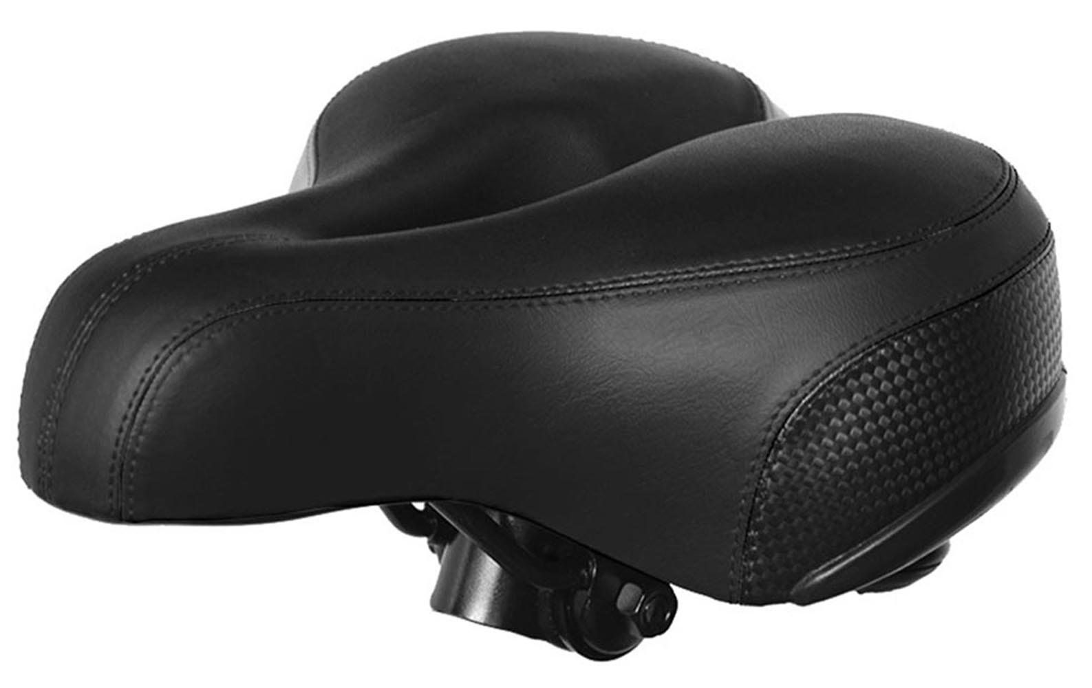 Bike Seat Padded Bicycle Saddle with good Cushion Comfortable Shock-Absorption