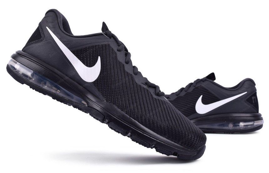 Nike Men s Air Max Full Ride TR 1.5  2 Shoes Black Swoosh Casual NWT 869633- 010  Nike  FashionSneakers cc9283453