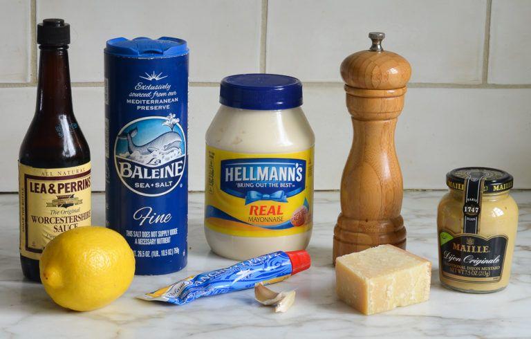 homemade caesar salad dressing  recipe  homemade caesar