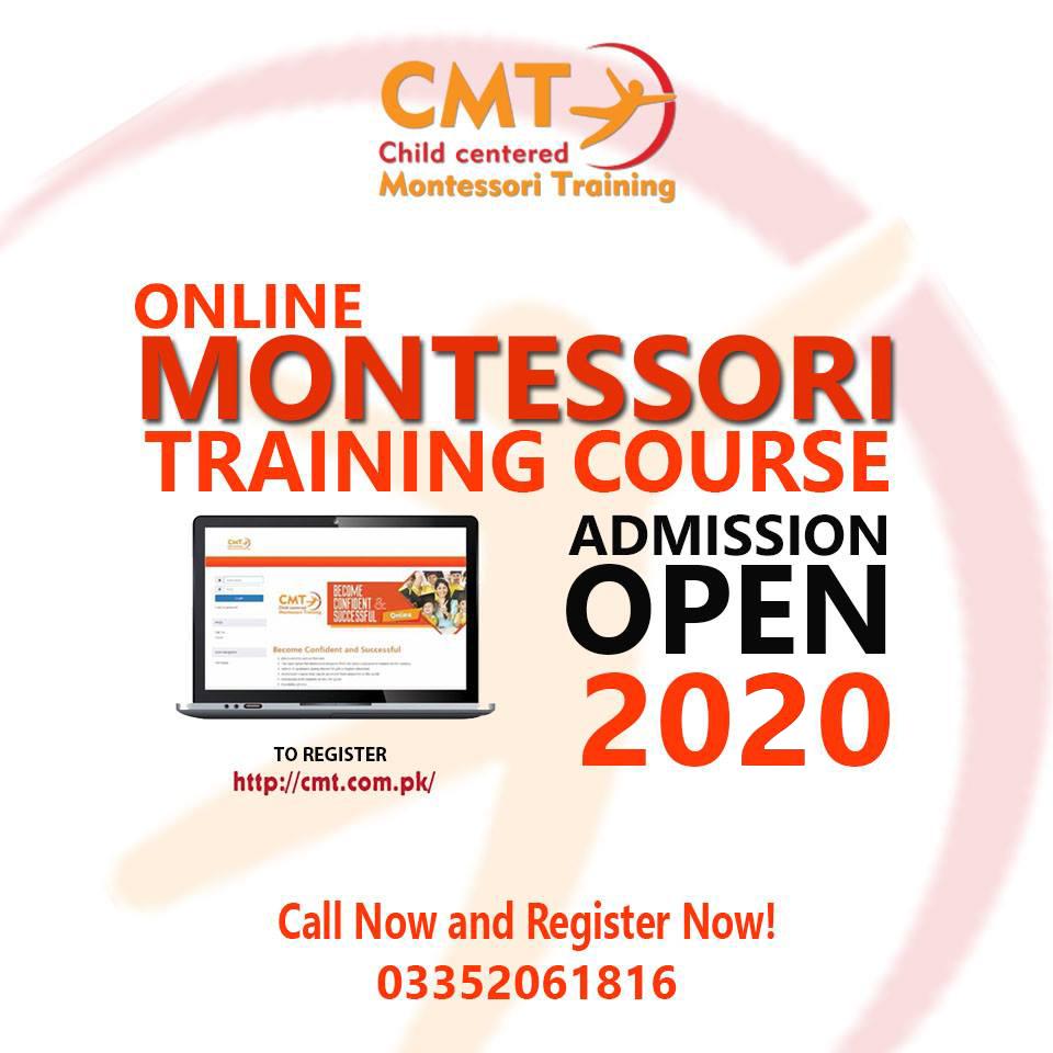 Admission Open Online Training Online Registration Cmt