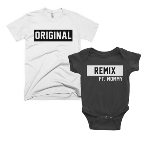 daeaa2fe Original/ Remix | Daddy Baby Set Matching family shirts | Everything ...