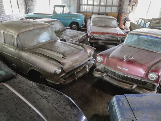 Vintage Chevy Auction To Deal In Low Mileage Gems Barn Finds